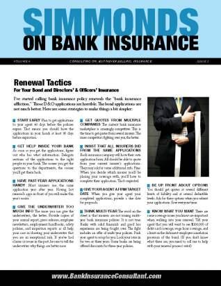 Bank Insurance Newsletter